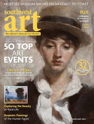 Southwest Art Magazine January 2017 issue